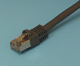 Shielded CAT5 Cable with Shielded RJ45 Connector