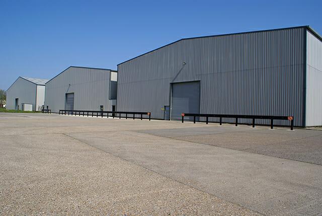 Hope Industrial UK Logistics Center in Snetterton