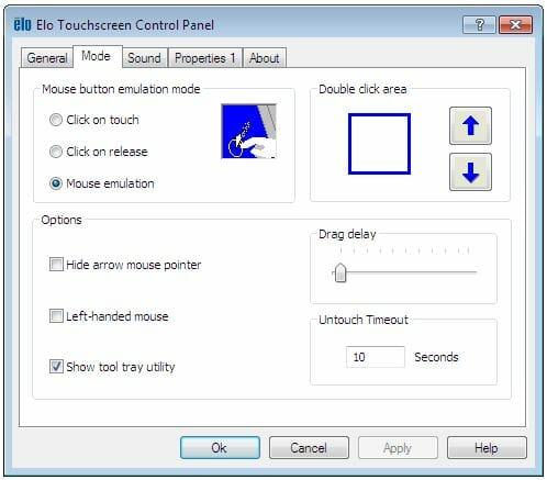 Elo Touchscreen Control Panel
