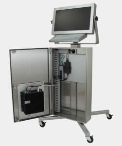 Industrial PC Workstation with Dell Box PC 5000