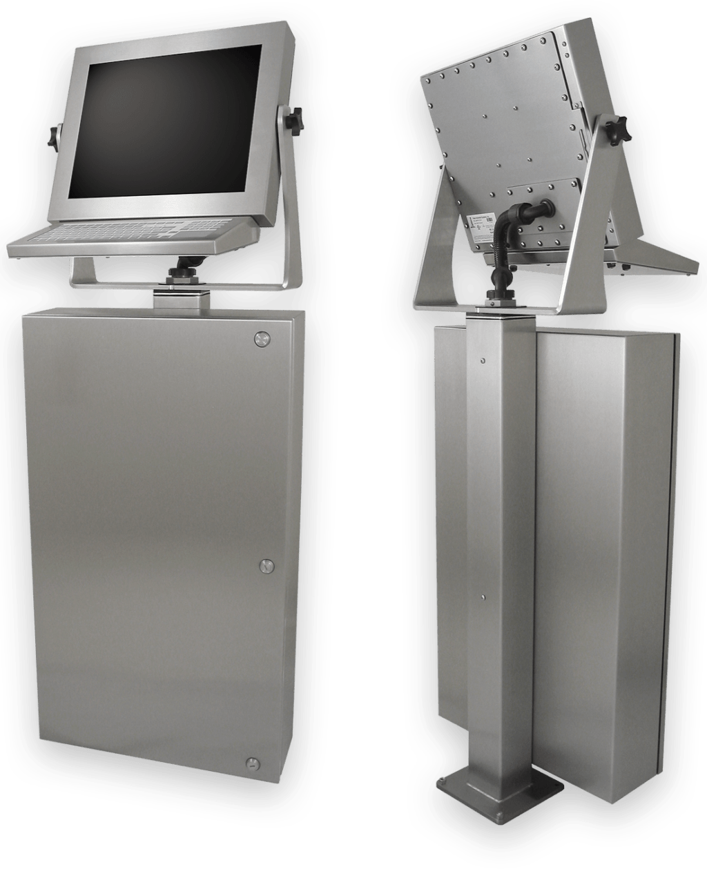 Industrial IP65/IP66 Touch Screen Workstations for the Factory Floor