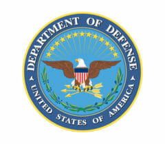 U.S. Department of Defense customer logo