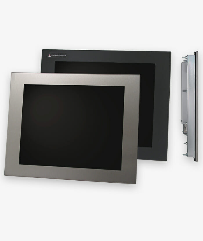"""17"""" Panel Mount Industrial Monitors and IP65/IP66 Rugged Touch Screens, story"""